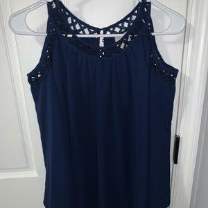 Blouse Navy Blue